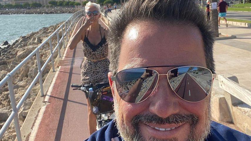 Alex Jolig und seine Frau Britt auf Mallorca