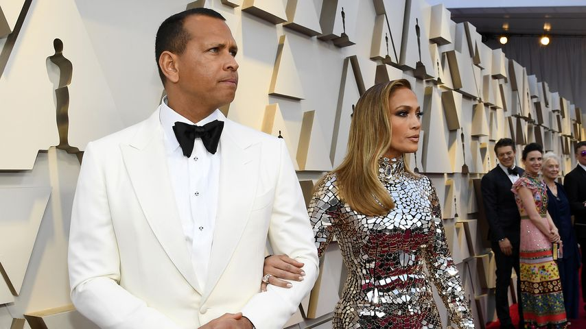Alex Rodriguez und Jennifer Lopez im Februar 2019 in Hollywood