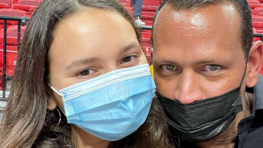 Alex Rodriguez und seine Tochter Ella