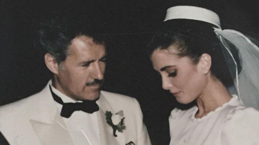 Alex und Jean Trebek an ihrem Hochzeitstag