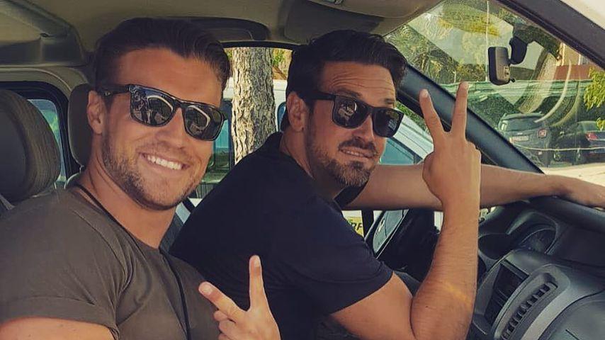 Alexander und Stefan: Sie sind dicke Bachelorette-Buddys