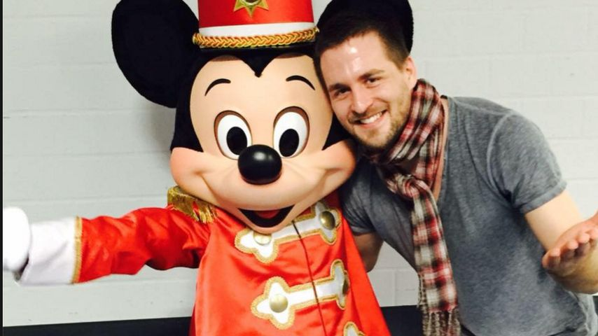 Alexander Klaws und Micky Maus