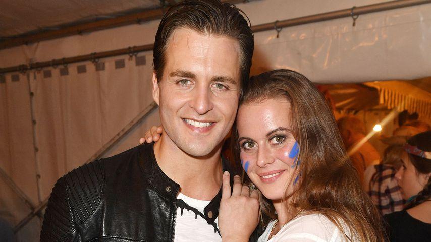 Alexander Klaws und seine Frau Nadja Scheiwiller
