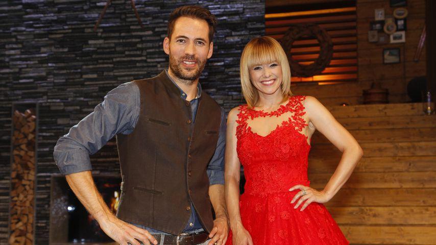 Alexander Mazza und Francine Jordi