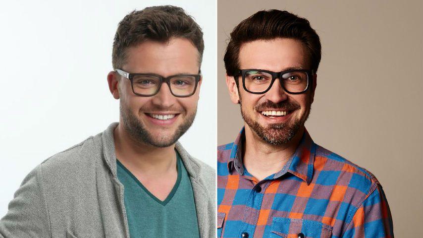 """Collage: Alexander Peplinski und Stefan Gritzka, """"Die Bachelorette""""-Kandidat von 2015 und 2018"""