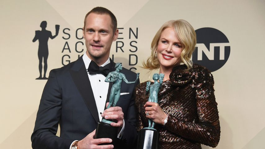 Alexander Skarsgard und Nicole Kidman bei den Screen Actors Guild Awards
