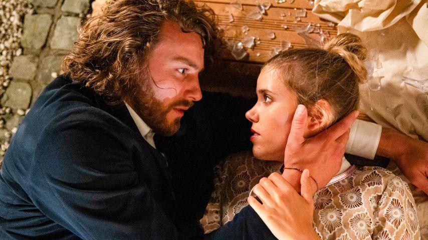 """Alexander Verhoven (Frederik Götz) und Josefin (Sina Zadra) in """"Verbotene Liebe – Next Generation"""""""