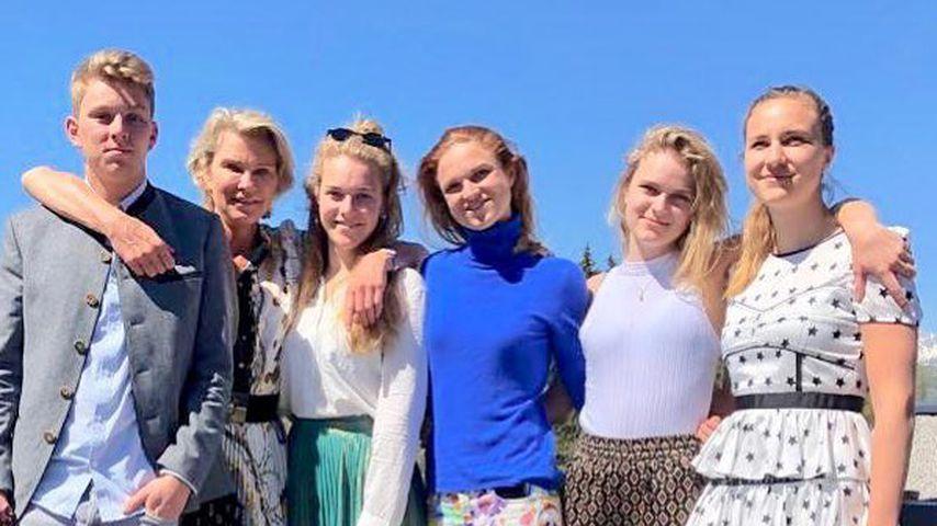 Alexander von Pfuel, Stephanie Gräfin von Pfuel, Amelie Bagusat, Sophie Bagusat, Milana von Pfuel