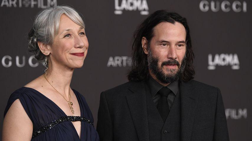 Alexandra Grant und Keanu Reeves 2019 in Los Angeles