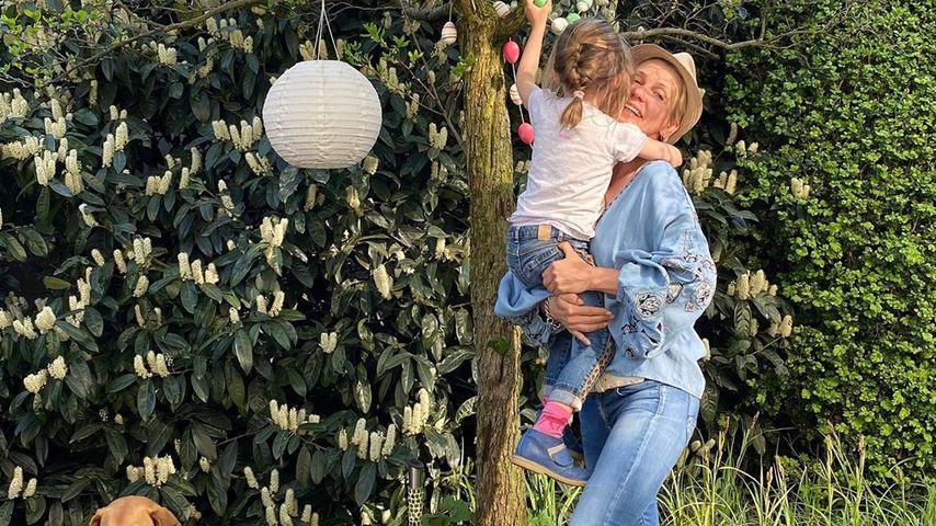 Alexandra Rietz mit ihrer Tochter Romy