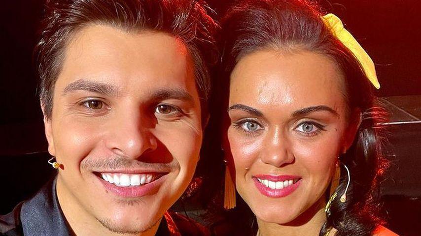 "Alexandru Ionel und Vanessa Neigert bei ""Let's Dance"""