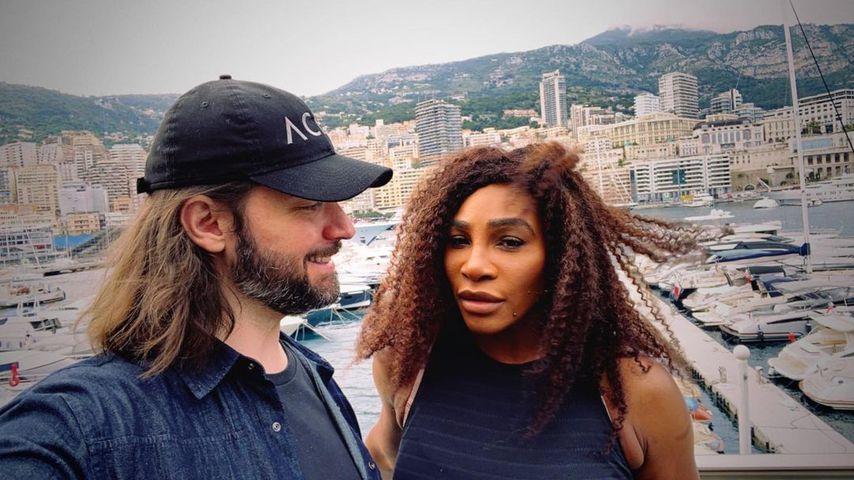 Alexis Ohanian und seine Frau Serena Williams im Mai 2021 in Monaco