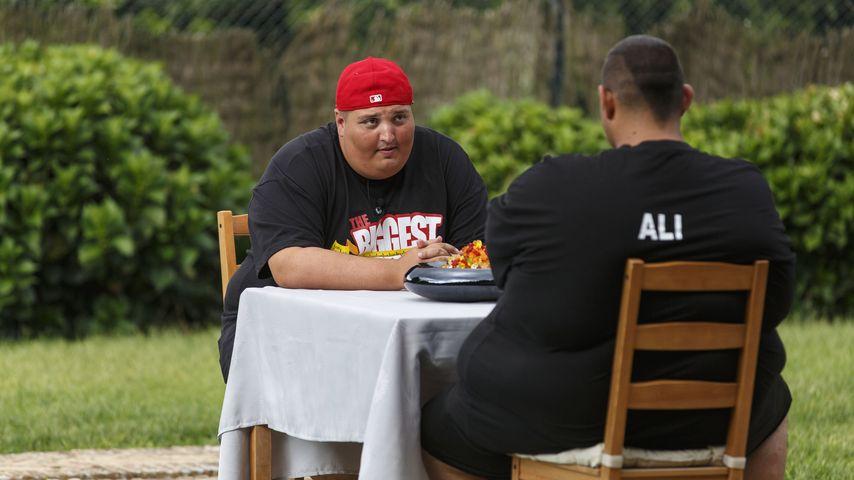"""Ali und Dadon von """"The Biggest Loser"""" 2014"""