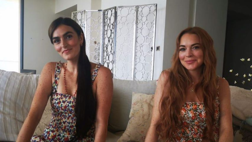 Aliana und Lindsay Lohan, Juni 2020