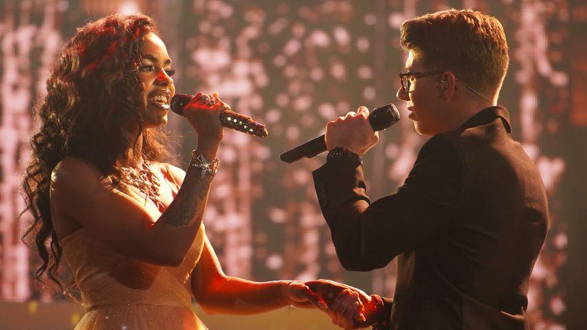 Alicia-Awa Beissert im Duett mit dem späteren Sieger Davin Herbrüggen