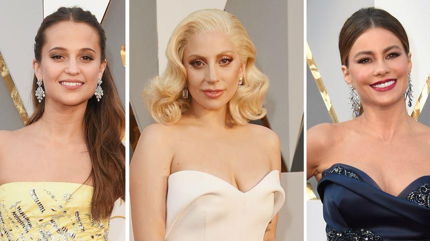 Glänzende Traumfrauen: Das sind die schönsten Oscar-Kleider
