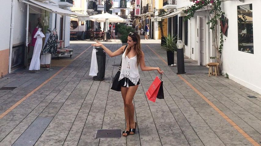 Alisa Persch auf Shoppingtour in Ibiza
