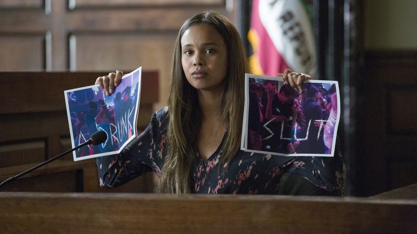 """Alisha Boe in einer Szene aus der zweiten Staffel von """"Tote Mädchen lügen nicht"""""""