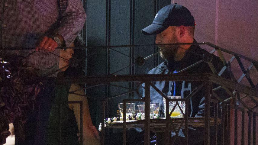 Alisha Wainwrigh und Justin Timberlake bei einem Barbesuch in New Orleans im November 2019