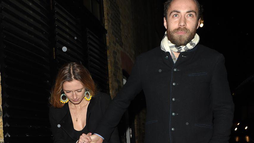 Alizee Thevenet und James Middleton im Dezember 2019 in London