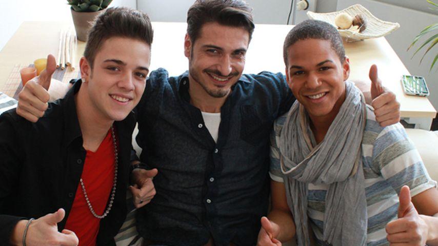 AWZ-Salvatore drückt Luca und Jesse die Daumen