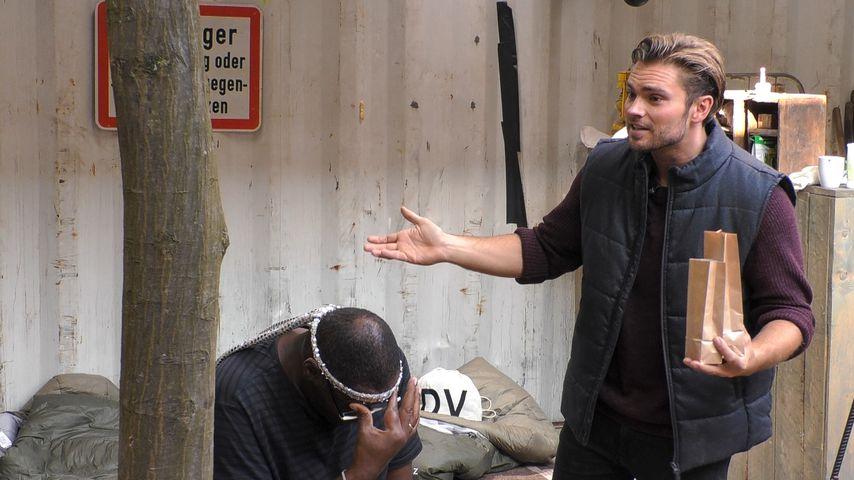 "Alphonso Williams und Johannes Haller bei ""Promi Big Brother"", Tag 12"