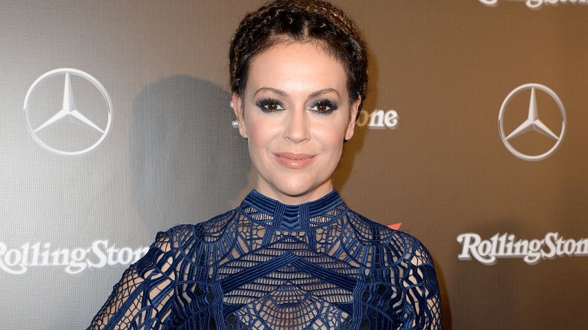 Alyssa Milano bei einem Promi-Event in Houston