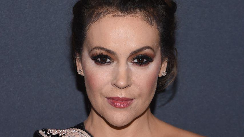 Alyssa Milano bei einer Oscar-Party