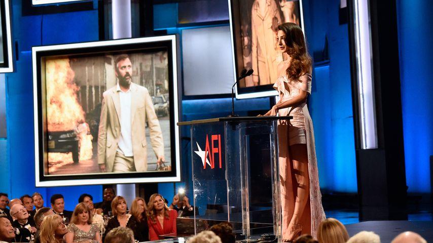 Vor Publikum: Amal Clooneys Liebeserklärung an ihren George!