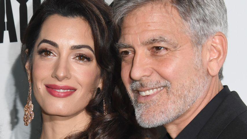 Amal und George Clooney im Mai 2019