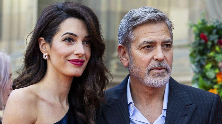 Amal und George Clooney im März 2019