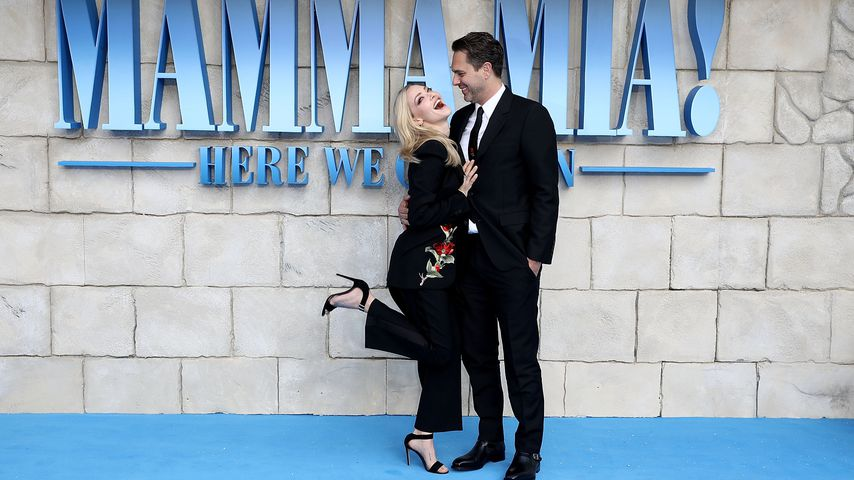 "Amanda Seyfried und Thomas Sadoski bei der Premiere von ""Mamma Mia! Here We Go Again"" in London"