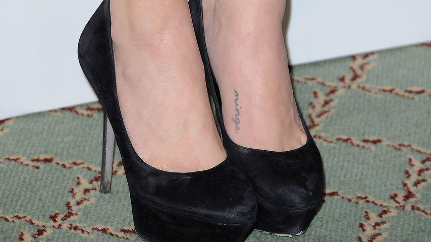 "Amanda Seyfrieds ""Minge""-Tattoo"