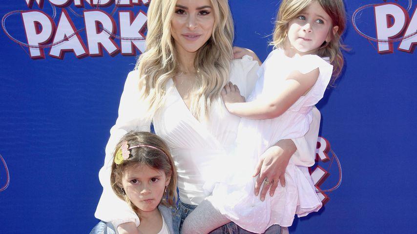 Amanda Stanton mit ihren Töchtern Kinsley und Charlie
