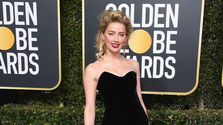 Amber Heard bei den Golden Globes 2019