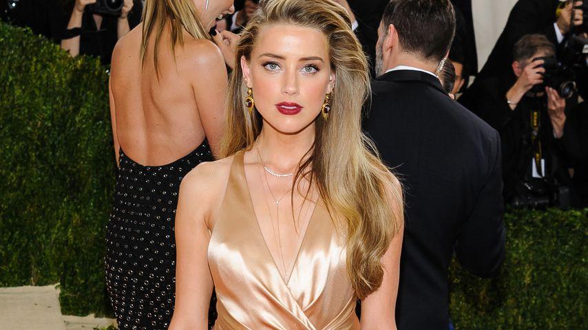 Amber Heard bei der Met Gala