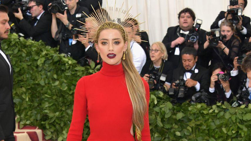 Amber Heard bei der Met Gala 2018