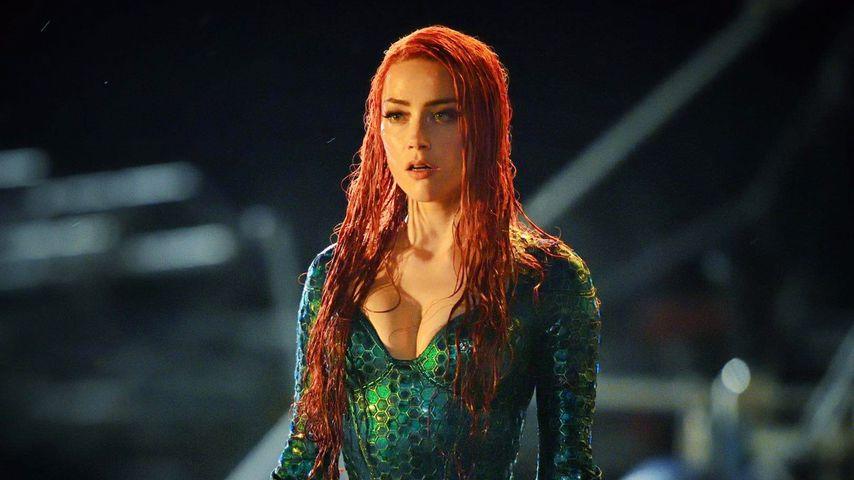 """Amber Heard in der Rolle als Mera im neuen Film """"Aquaman"""", 2018"""