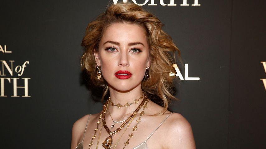 Amber Heard im Jahr 2018