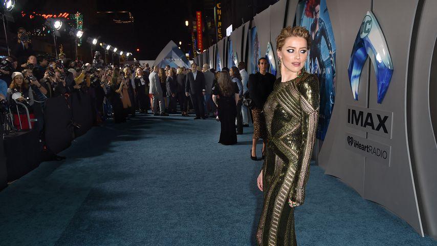 """Schauspielerin Amber Heard bei der """"Aquaman""""-Premiere in Los Angeles"""
