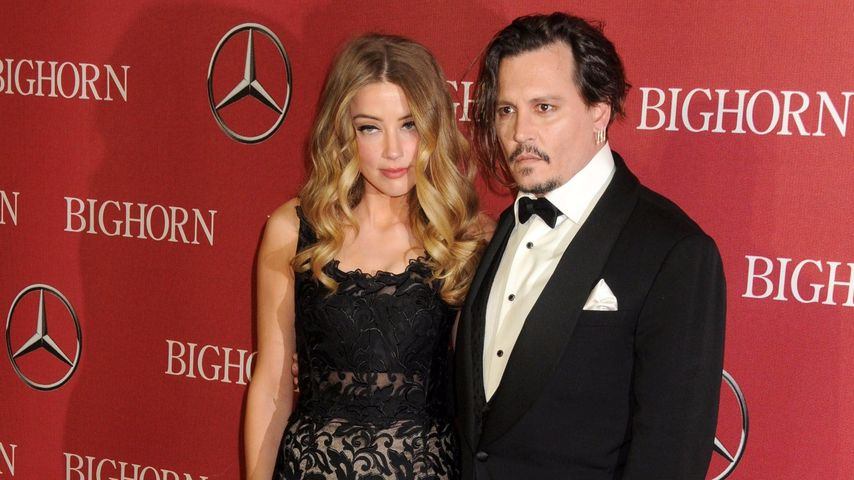 "Amber Heard und Johnny Depp bei der ""Palm Springs International Film Festival Awards""-Gala"