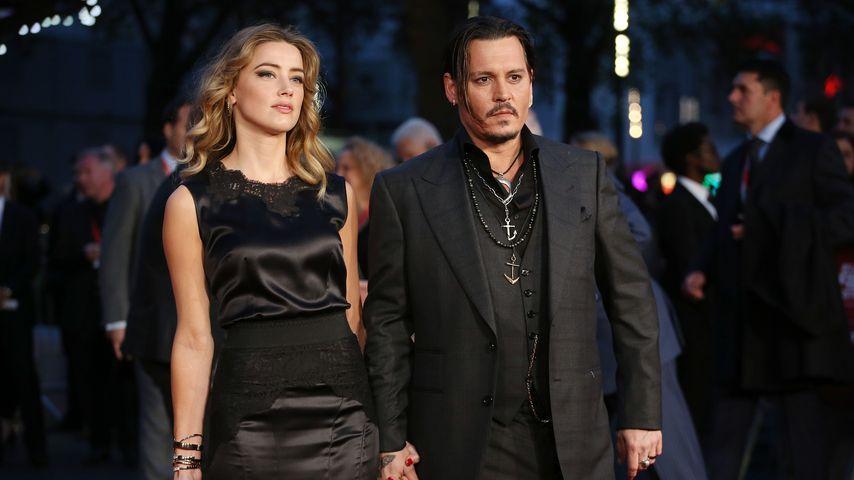 """Amber Heard und Johnny Depp bei der """"Black Mass""""-Premiere in London"""