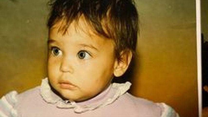 Amira Pocher als Baby