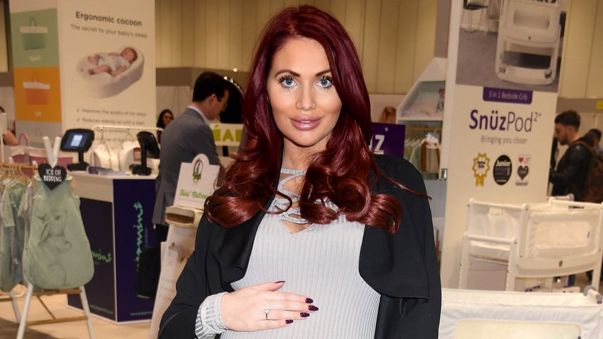 "Amy Childs bei ""The Baby Show"" in London"