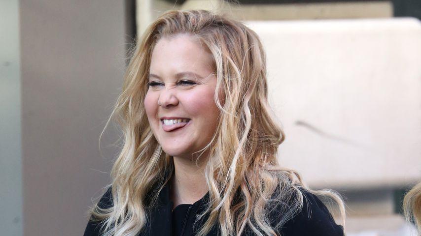Nach Schwanger-News: Amy Schumer strahlend beim Film-Dreh!