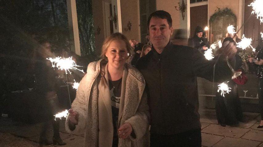 Amy Schumer und Chris Fischer an Neujahr
