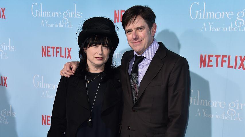 """Amy Sherman-Palladino und Dan Palladino im November 2016 bei der """"Gilmore Girls""""-Premiere in L.A."""