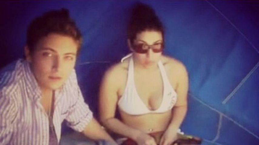 Amy Winehouse mit ihrem besten Freund Tyler James