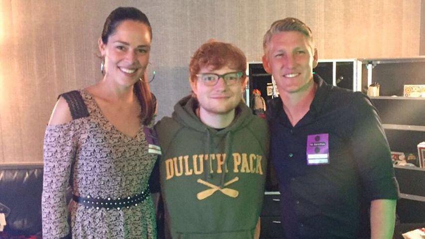 Berühmte Fans: Ed Sheeran begeistert auch Schweini!