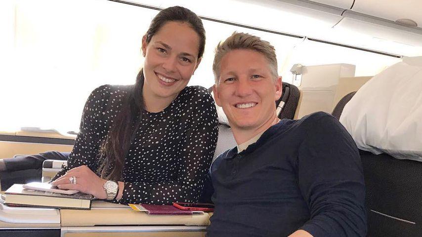 Es ist so weit: Bastian Schweinsteiger und Ana ziehen um!